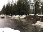 Flooding is starting to occur in South Lake Tahoe.