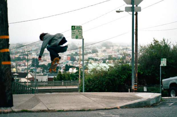 The hills and history of San Francisco make it an interesting place to skateboard.