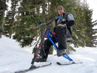 Skibiking? Early life experience fuels former South Lake Tahoe resident's passion