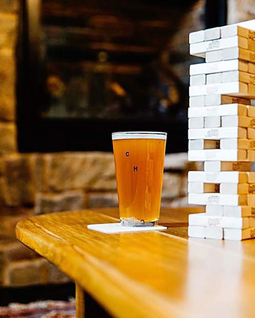 wait out the Sunday traffic in our lobby with beer(s) and jenga.