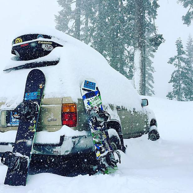 It's been a roller coaster of a season in Tahoe. While we watch it rain up to 8000 feet in Lake Tahoe we dream of the week in January where the precipitation and cold air aligned to bring us blower pow.