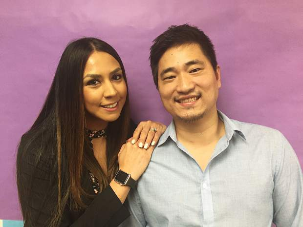 Cindy Martinez, Bijou Elementary principal, and Spencer Spanton, Reno-Tahoe dance instructor and supervisor at Tahoe Forest Hospital, will perform bachata at the event.