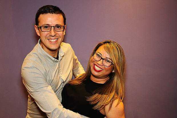 Dance instructor Gerzon Chaves will dance salsa with MontBleu marketing director Marimille Dacia.