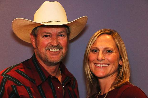Bob Truesdale (country dance instructor, choreographer and DJ) and Alison Ganong (Barton Health physician) will perform country two step.