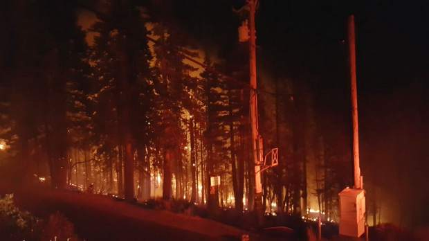 Crews continue to battle Lake County brush fire