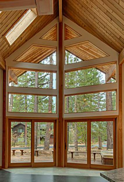 Designing an a frame home opinion tahoedailytribune com for A frame house characteristics