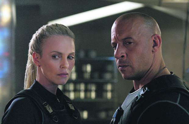Vin Diesel Responds to Charlize Theron's Comments About On-Screen Kiss