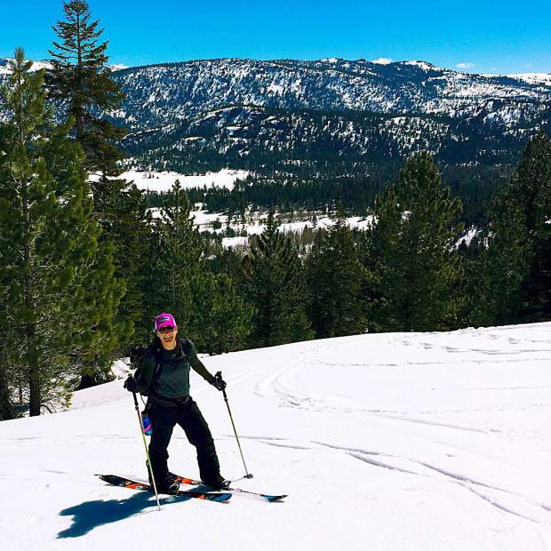 Per our mentor in the backcountry: It's not how much vert you ski, it's how much you smile.
