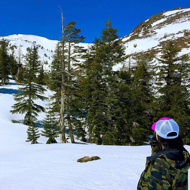 With every ski resort on the south shore of Lake Tahoe closed this week, it's time to head into the backcountry.