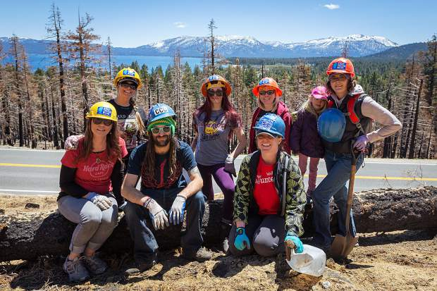 The Sugar Pine Foundation has planted 800 seedlings in the burn area off of CA 89 near Cascade Road.