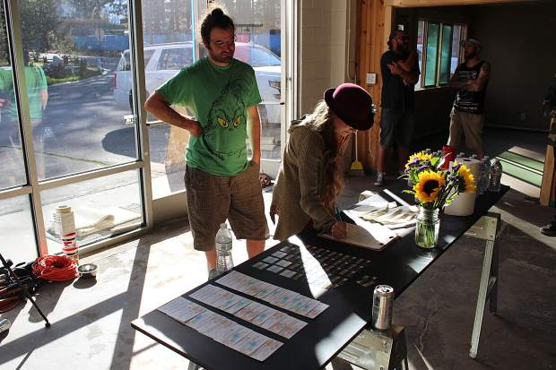 A number of South Lake Tahoe-based artists and art enthusiasts attended the informational session on High Vibe Society on Tuesday, May 4.