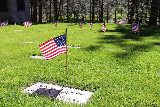 Happy Homestead Cemetery is the final resting place for over 560 veterans.