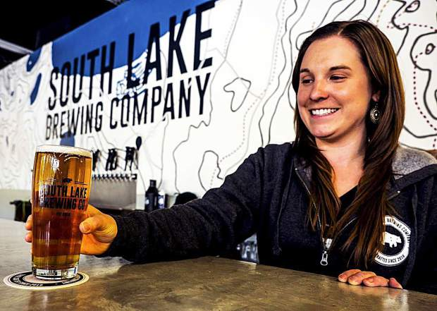 We got a chance to sit down w/ co-owner Nicole of @southlakebrewco, the newest addition to South Lake Tahoe.