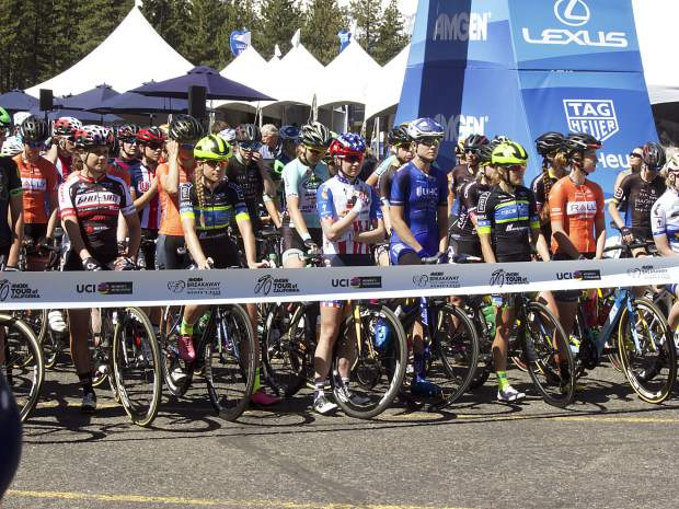Amgen had 17 teams, consisting of 99 athletes, competing in the Breakaway from Heart Disease Women's race.