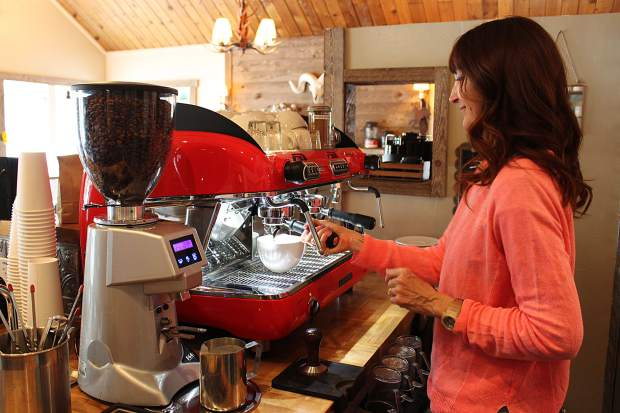 Using an Italian espresso machine, Clyde's Coffee serves up quality mochas, cappuccinos and lattes.