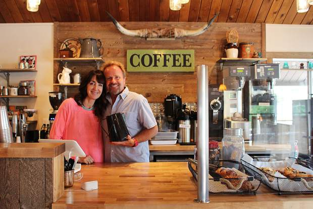 Owners Clyde and Marlo Quillin opened Clyde's Coffee Roasting Company — named after their 15-year-old son — on Kingsbury Grade in May.