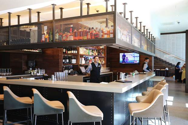 The bistro and bar are both open to the public.
