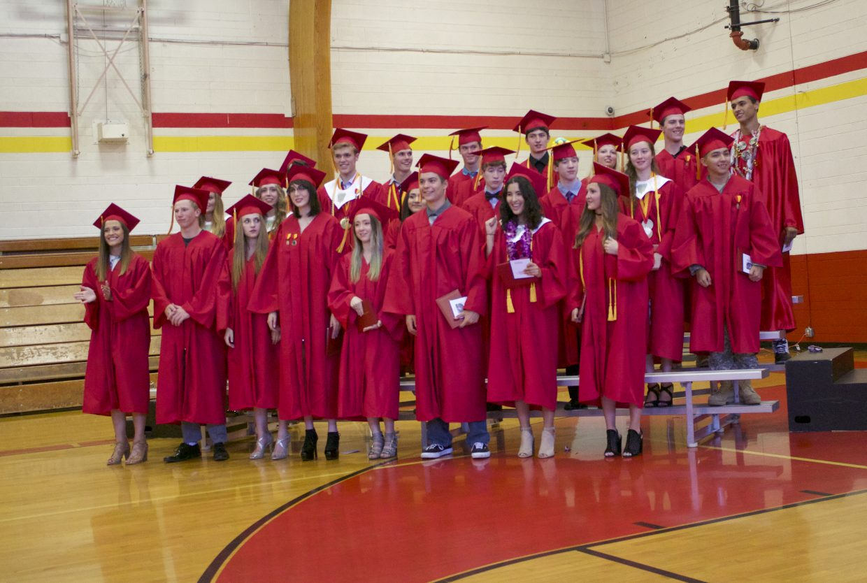 George Whittell High School awarded 24 diplomas to its class of 2017.