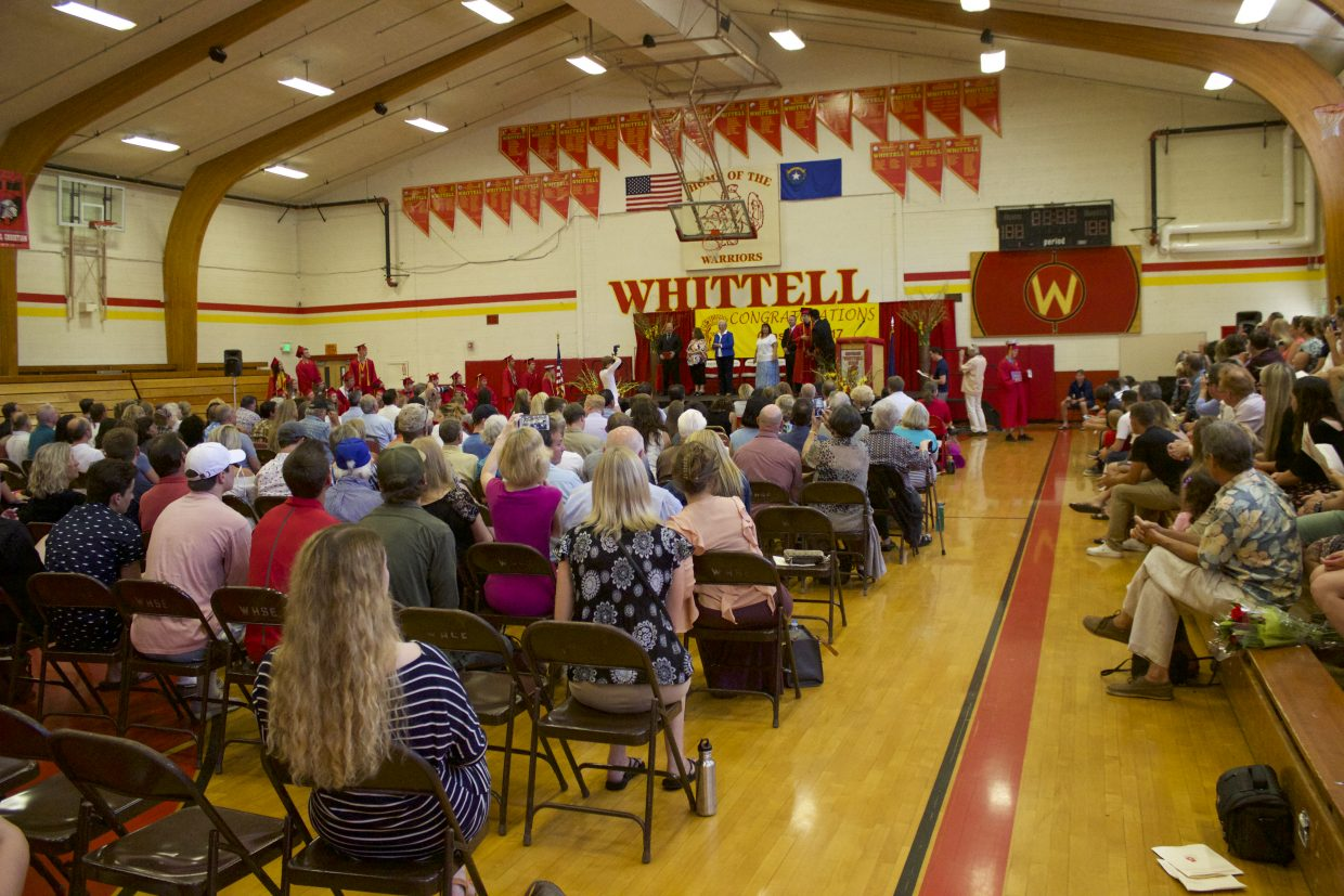 It was a packed house at GWHS graduation ceremony.