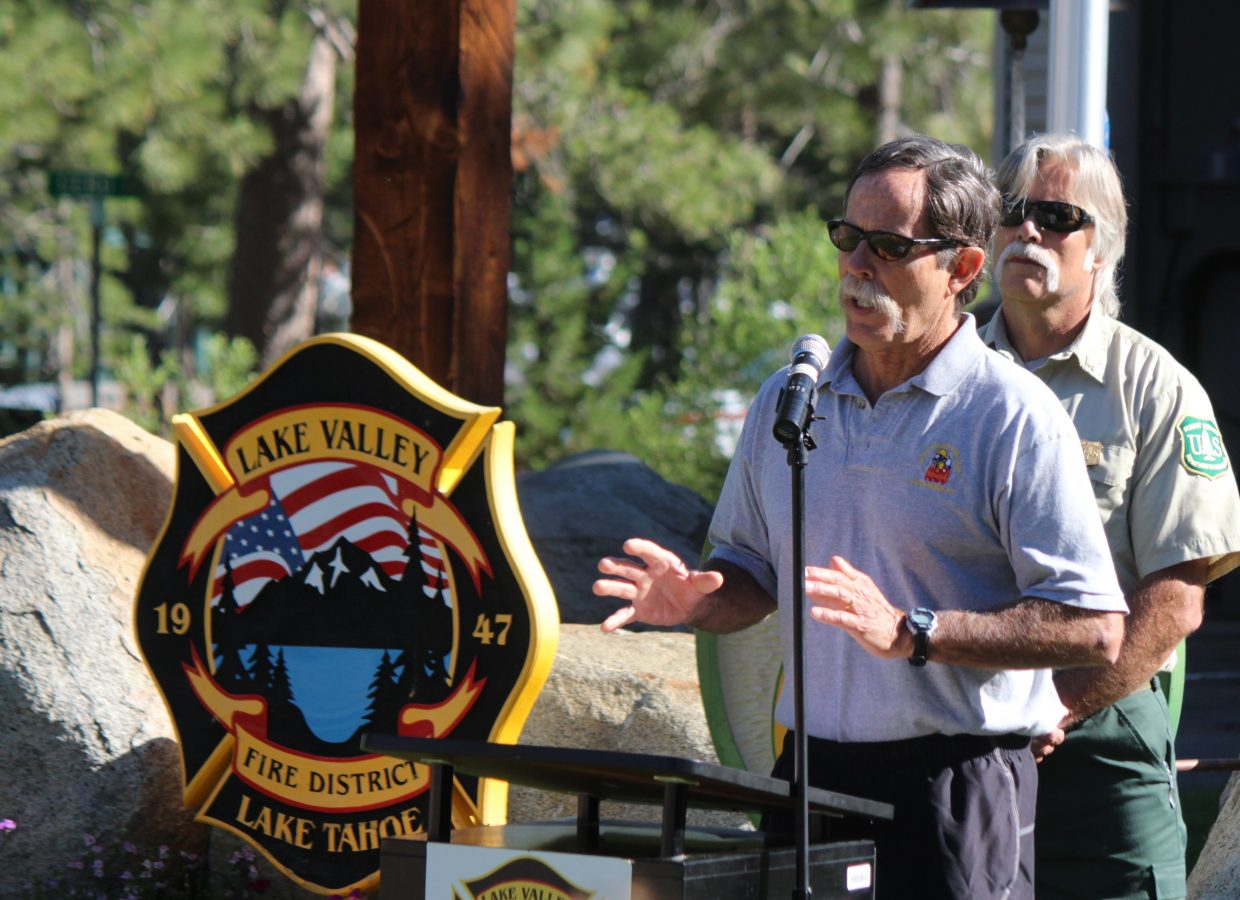 Former Lake Valley Fire Protection District Fire Chief Jeff Michaels talks about the frustration he felt in the early hours of the Angora Fire.