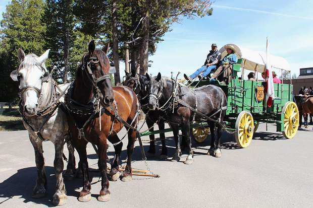 The Highway 50 Association Wagon Train rode from Stateline, Nevada to Placerville, California from June 4 - June 10. This year marks the 68th reenactment of the Great Western Migration.