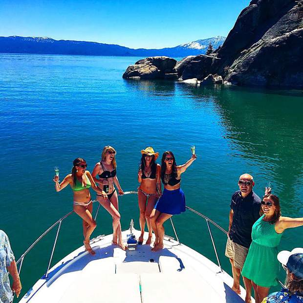 Happy Memorial Day weekend from #TahoeBoatRides. Who's getting out on beautiful Lake Tahoe?