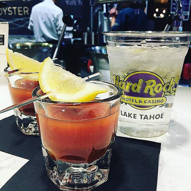 Shots, everybody! Have you tried the Bloody Mary Oyster Shooters yet?