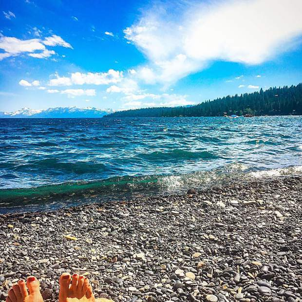 Keep Tahoe blue.