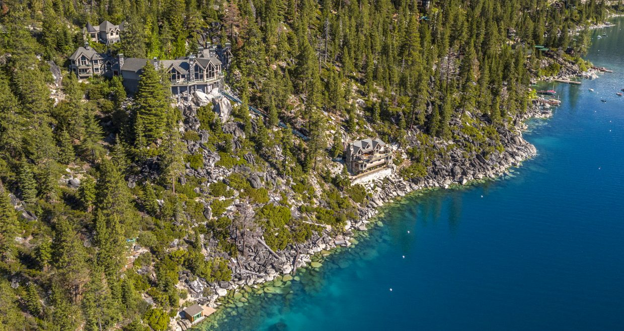 This Tahoe estate hit the market for $75 million earlier this week.