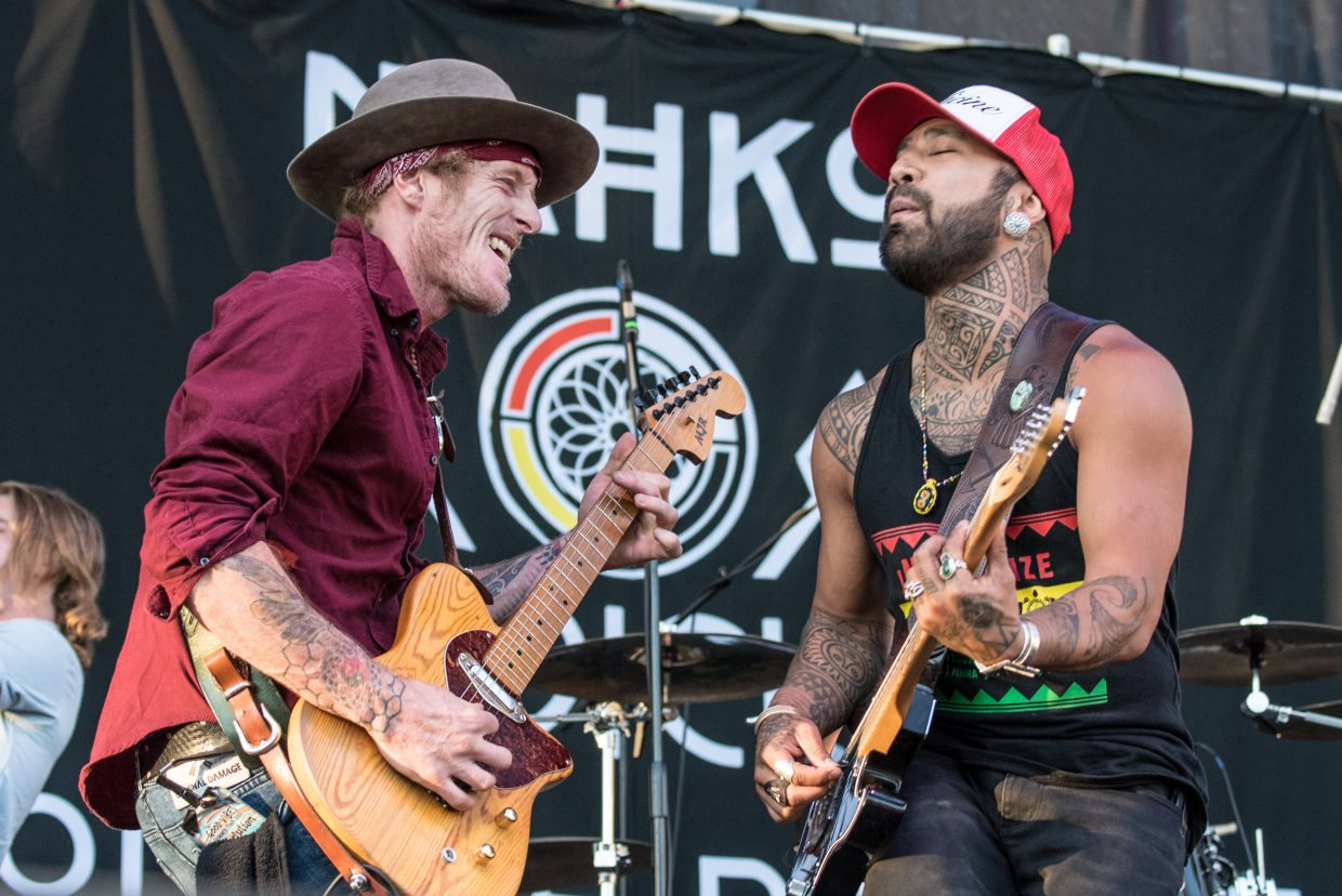 Nahko and Medicine for the People plays at the Harveys Lake Tahoe outdoor concert venue Friday, June 30, as part of the The Good Vibes Summer Tour 2017.