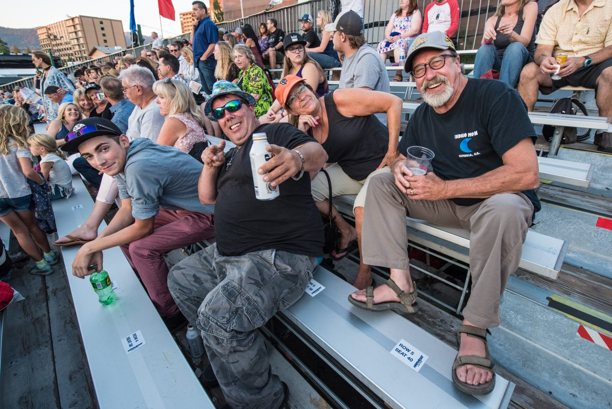 Concert goers all the way from New Jersey showed up to watch Train perform at the Harveys Lake Tahoe outdoor concert venue on Sunday, July 9th.