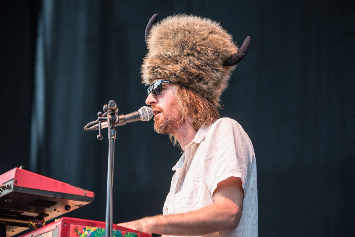 Zach Gill of Animal Liberation Orchestra performing ahead of Jack Johnson during his 2017 tour stop at Harveys Lake Tahoe on Friday, July 28th.