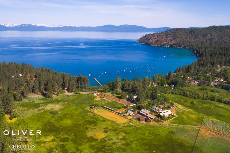The Shakespeare Ranch in Glenbrook, Nevada is on the market for $69 million.