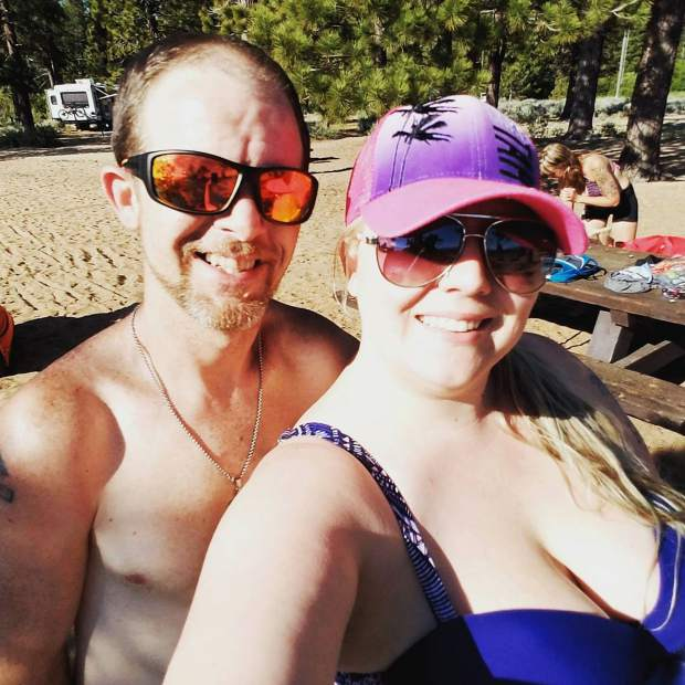 Beach day at Nevada Beach #Nevada #tahoesouth #tahoewater #tahoebeach #southlaketahoe #tahoesnaps #funinthesun #beach #beachday #sundayfunday #beautifulday #couples #relaxation #sunandbeer