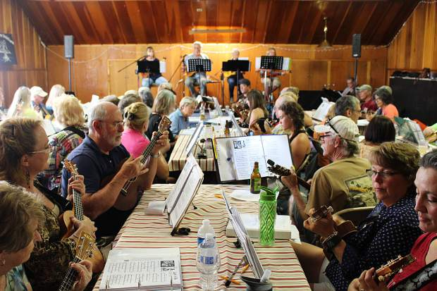 The South Shore Ukuleleians meet every Wednesday from 6 to 8 p.m. at the American Legion in South Lake Tahoe.