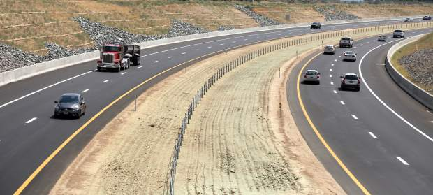 The 580 bypass was opened to motorists on Wednesday morning.