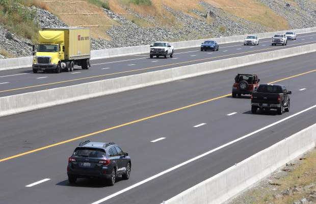 The 580 freeway bypass is now open tp motorists.