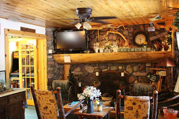 The couples want the Fireside Lodge to be a place for guests to feel at home.