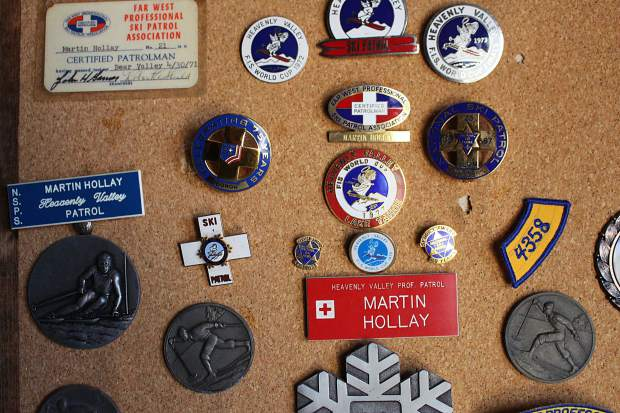 Hollay became a ski patrol at Heavenly Mountain Resort in 1965.