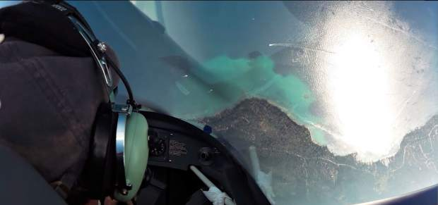 Passengers flying Sky Combat Ace will get a perspective of Lake Tahoe that most people will never get..