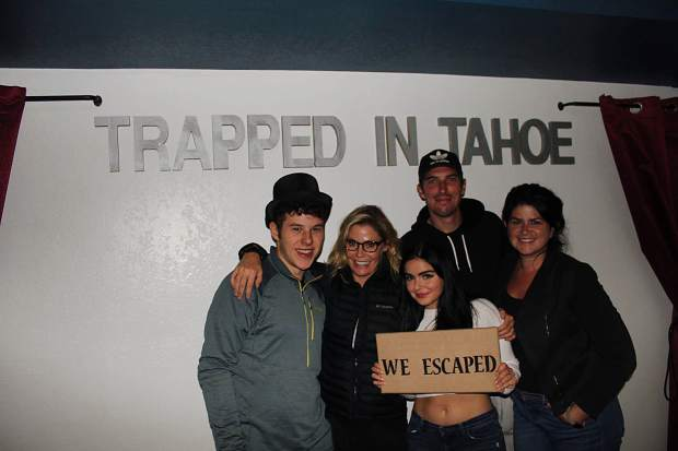Trapped In Tahoe Escape Room