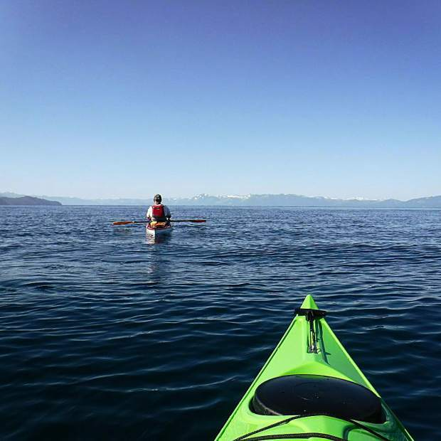 The inaugural paddle of Olive my eNVy was a success! What a great morning on the water.