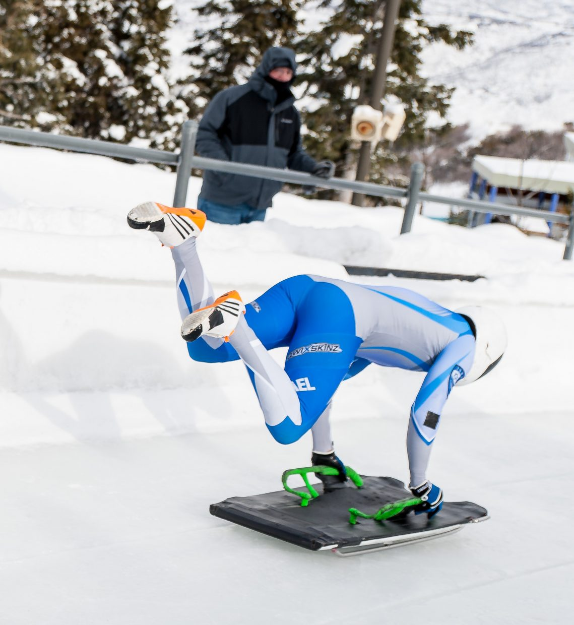 Larry Sidney is training with the hope of qualifying for the 2018 Winter Olympics.