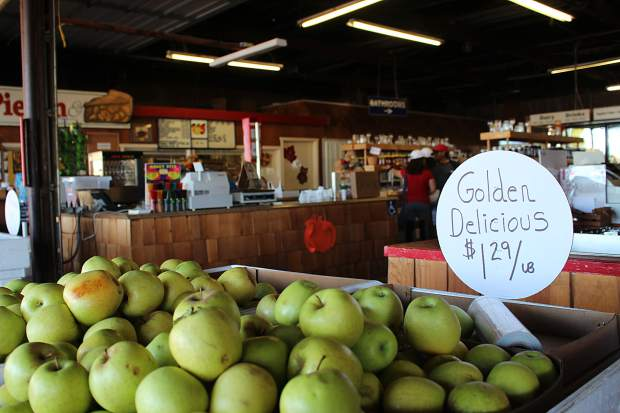 In addition to apples, many of the Apple Hill orchards offer dozens of fruit-based products, like jams and sauces.