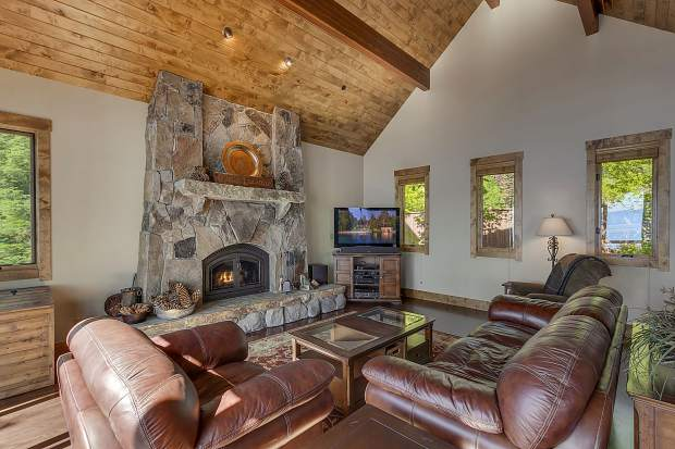 This Oliver Luxury Real Estate smart home property in North Lake Tahoe features anything from motion-sensing lighting to security cameras that may be viewed from any wi-fi enabled device.