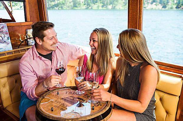 Grab some friends and beat the heat; join us for a wine tasting cruise on Lake Tahoe!