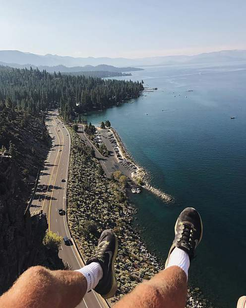 Never seen a lake as impressive as Lake Tahoe.