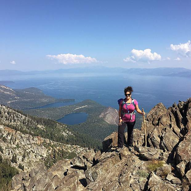 Took my first solo trek on the tail end of a business trip in South Lake Tahoe to Mt. Tallac.