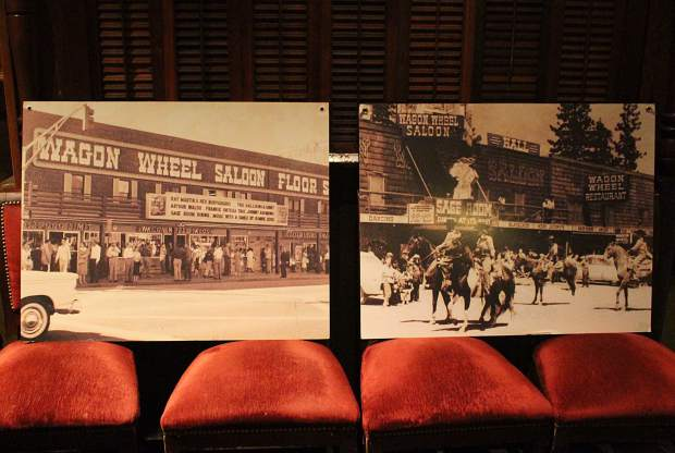 Harveys Lake Tahoe started out as a one-room log building called Harveys Wagon Wheel Saloon and Gambling Hall.