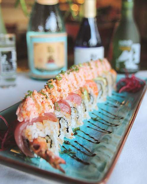 Food photography for Off The Hook sushi.
